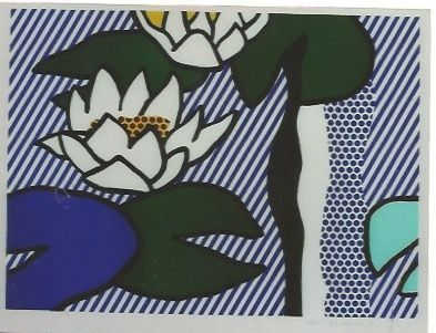 Lithographie Lichtenstein - Nympheas - Water Lilies