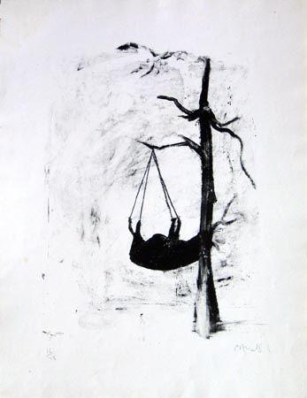 Lithographie Barcelo - Oûtre