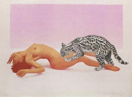 Lithographie Ramos - Ocelot,