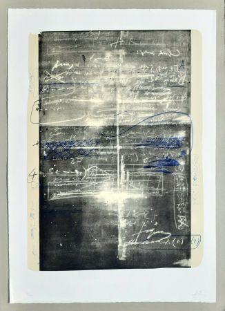 Lithographie Tàpies - Oeuvre gravè