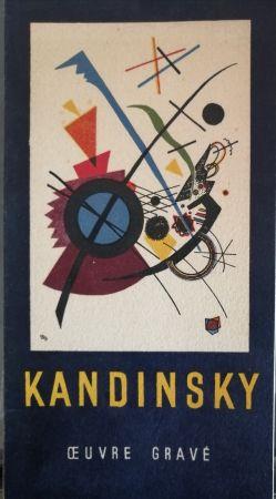 Illustriertes Buch Kandinsky - Oeuvre gravé