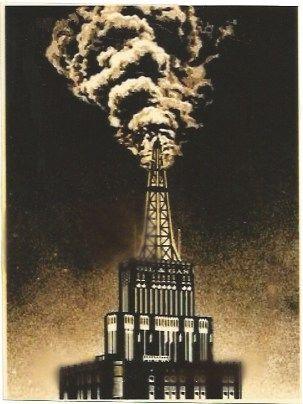 Siebdruck Fairey - Oil & Gas Building
