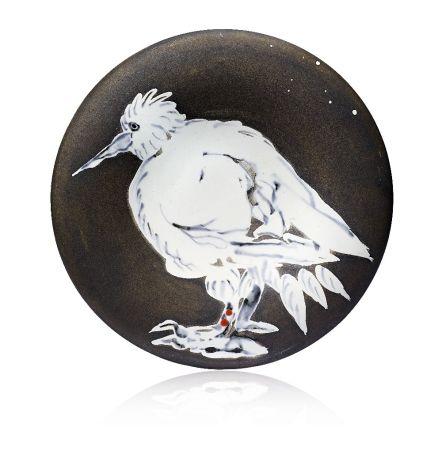 Keramik Picasso - Oiseau No. 76 (Bird No. 76), 1963
