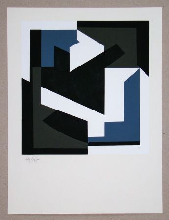 Siebdruck Vasarely - Olbio II.