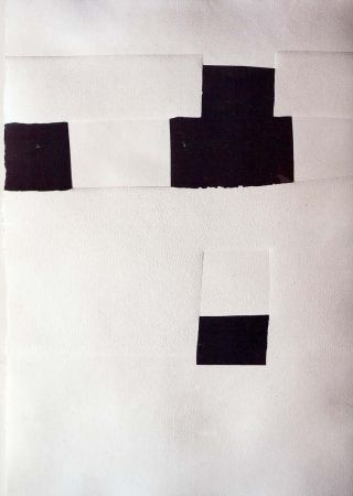 Lithographie Chillida - Olympique 92