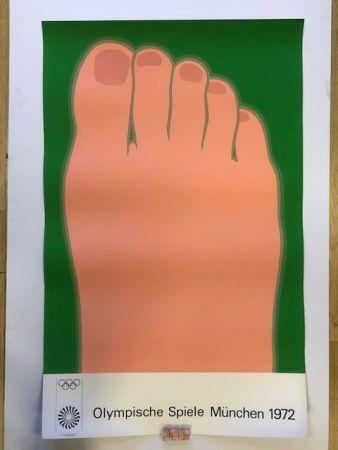 Plakat Wesselmann - Olympische spiele munchen 1972