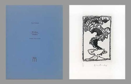 Illustriertes Buch Alechinsky - Ondes