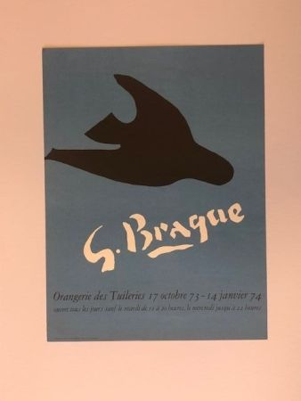 Plakat Braque - Orangerie des tuileries