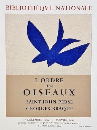 Plakat Braque - Ordre des oiseaux