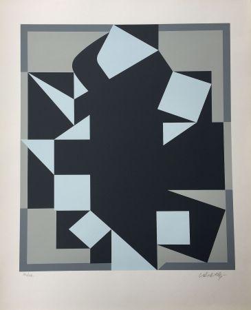Siebdruck Vasarely - Orgovan