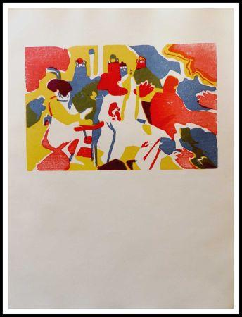 Holzschnitt Kandinsky - ORIENTALES