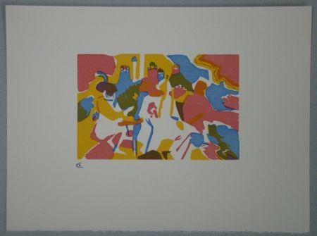 Holzschnitt Kandinsky - Orientalisches, 1911