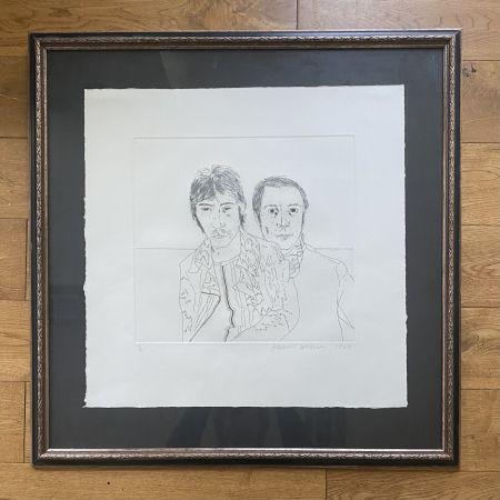 Stich Hockney - Ossie and Mo