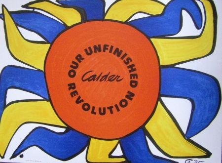 Plakat Calder - Our Unfinished Revolution