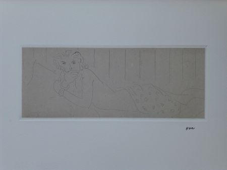 Radierung Matisse - Ouvre gravé volumes I & 2