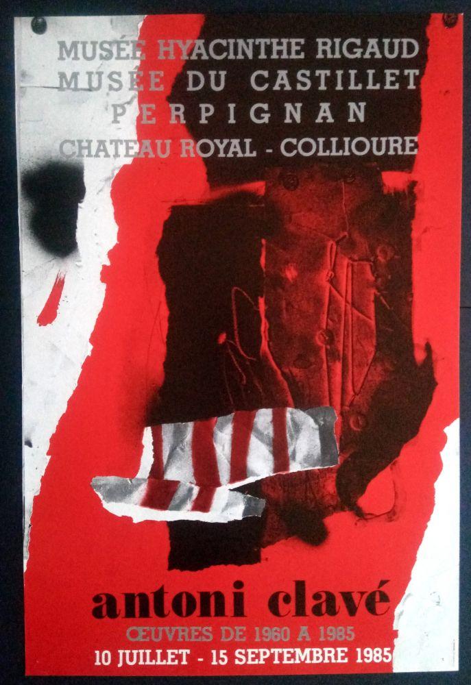 Plakat Clavé - Ouvres 1980 1985 Museé du Castillet Perpignan