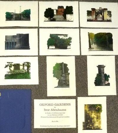 Siebdruck Abrahams - Oxford Gardens I-X