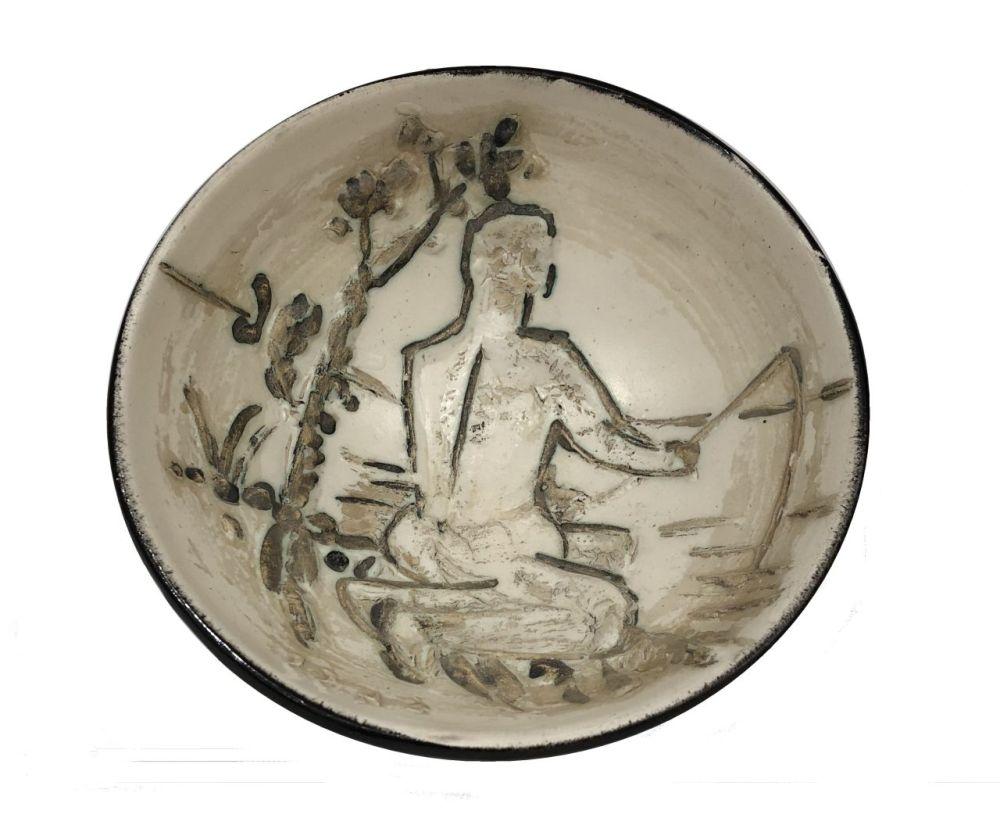 Keramik Picasso - Pêcheur à la ligne