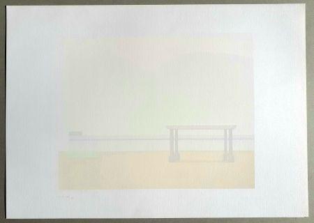 Siebdruck Calderara - Paesaggio