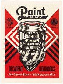 Hochdruck Fairey - Paint It Black
