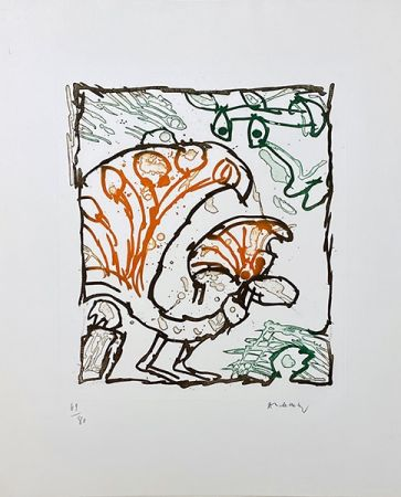 Stich Alechinsky - Paon