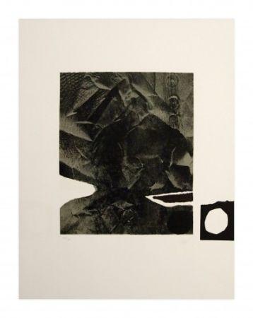 Lithographie Clavé - Papier Froissé