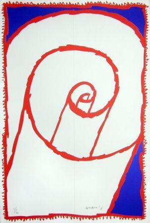Lithographie Alechinsky - Papier roulé