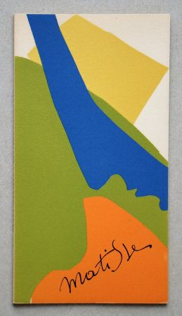 Illustriertes Buch Matisse - Papiers Découpés