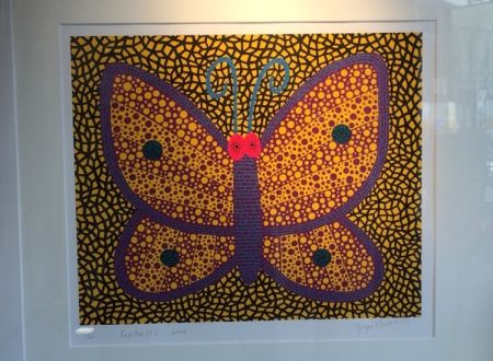 Siebdruck Kusama - Papillon1