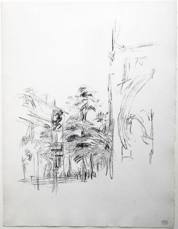 Lithographie Giacometti - PARIS SANS FIN (de la suite