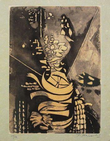 Radierung Und Aquatinta Herold - Paroles peintes