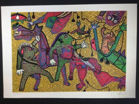 Multiple Baj - Particolare di Guernica