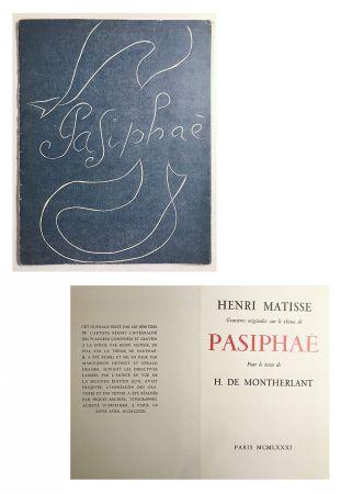 Illustriertes Buch Matisse - Pasiphae - Livret de présentation en reproduction