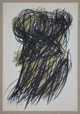 Offset Hartung - Pastel P. 1960-166