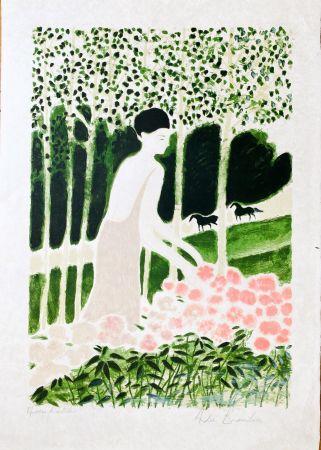 Lithographie Brasilier - Pastorale