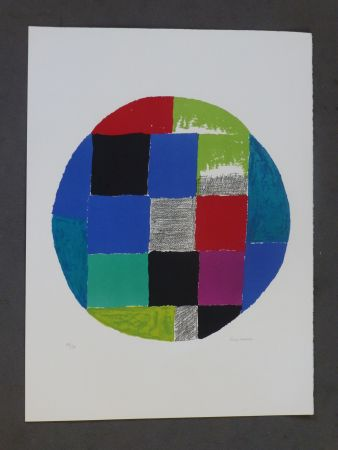 Lithographie Delaunay - Patchwork