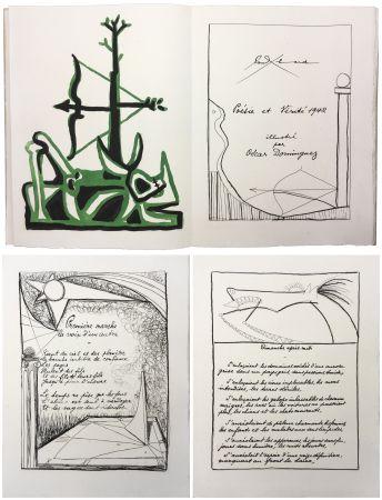 Illustriertes Buch Dominguez - Paul Éluard : POÉSIE ET VÉRITÉ 1942. 31 gravures originales (1947).