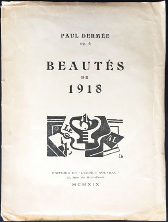 Illustriertes Buch Gris  - Paul Dermée : BEAUTÉS DE 1918. Illustrations de Juan Gris.‎