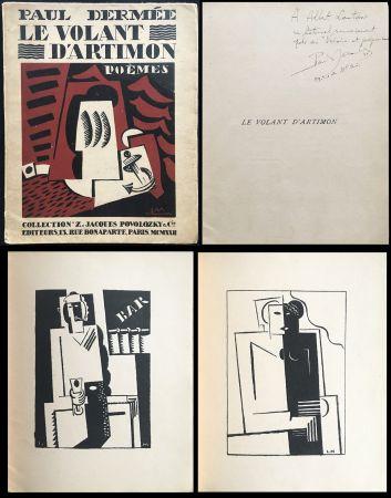 Illustriertes Buch Marcoussis - Paul Dermée : LE VOLANT D'ARTIMON. POÈMES. Exemplaire avec envoi