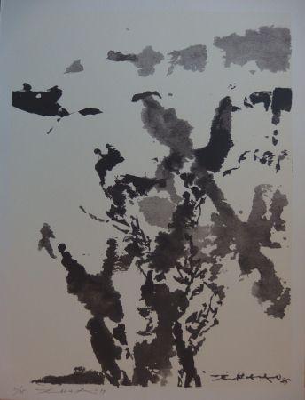 Siebdruck Zao - Paysage marin