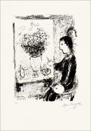 Lithographie Chagall - Peintre