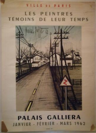Plakat Buffet - Peintres témoins de leur temps - 1962