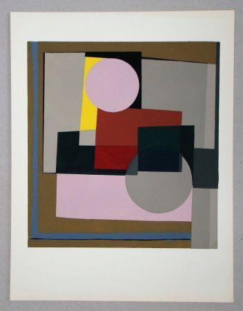 Pochoir Nicholson - Peinture - 1945