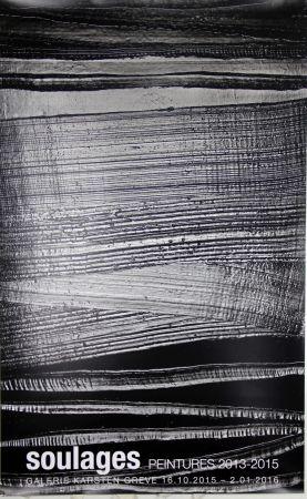 Offset Soulages - Peintures