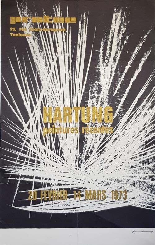 Offset Hartung - Peintures Recentes  Exposition de Toulouse