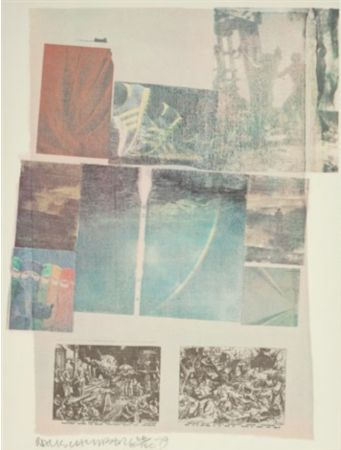 Lithographie Rauschenberg - People Have Enough Trouble Without Being Intimidated by an Artichoke