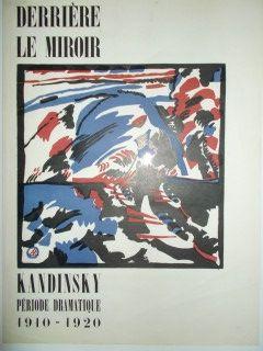 Linolschnitt Kandinsky - Periode dramatique 1910.1920