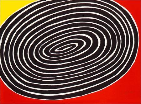 Lithographie Calder - Petite Spirale