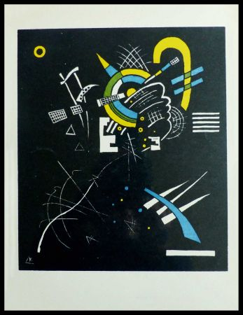 Lithographie Kandinsky - PETITS MONDES