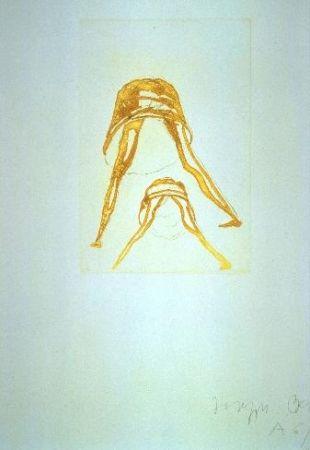 Radierung Und Aquatinta Beuys - Petticoat